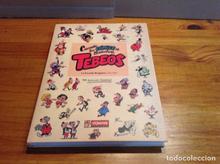 CUANDO LOS COMICS SE LLAMABAN TEBEOS 1945-1963. A.GUIRAL (Tebeos y Comics - Bruguera - Otros)