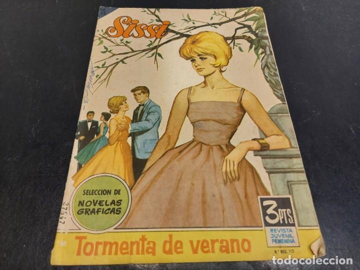 Tebeos: LOTE SISSI / REVISTA JUVENIL FEMENINA / NOVELAS GRÁFICAS / CONJUNTO DE 16 EJEMPLARES / VER LAS FOTOS - Foto 22 - 283368198