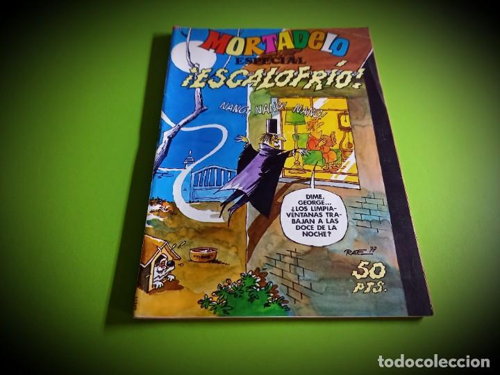 MORTADELO ESPECIAL ESCALOFRIOS -EXCELENTE ESTADO (Tebeos y Comics - Bruguera - Mortadelo)
