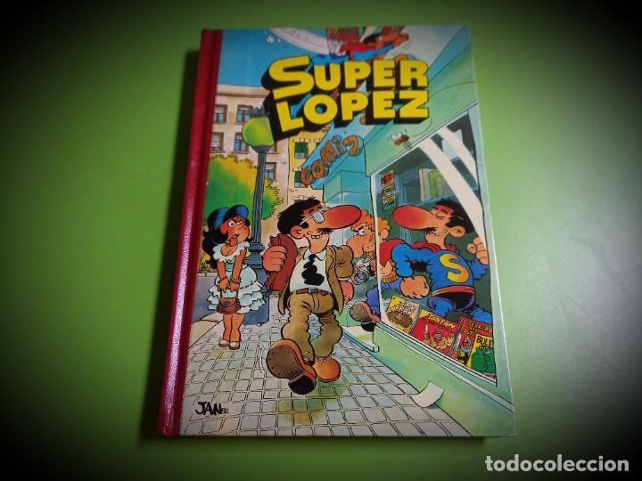 SUPER LOPEZ. TOMO Nº 1. EDITORIAL BRUGUERA. 1º EDICIÓN. 1982.EXCELENTE ESTADO (Tebeos y Comics - Bruguera - Otros)