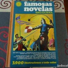 Tebeos: FAMOSAS NOVELAS BRUGUERA VOLUMEN 2. Lote 283641688