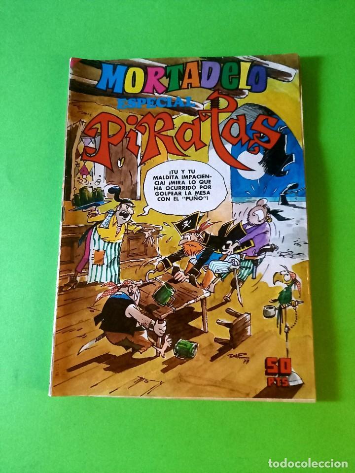 MORTADELO ESPECIAL PIRATAS -Nº 28 -EXCELENTE ESTADO (Tebeos y Comics - Bruguera - Mortadelo)