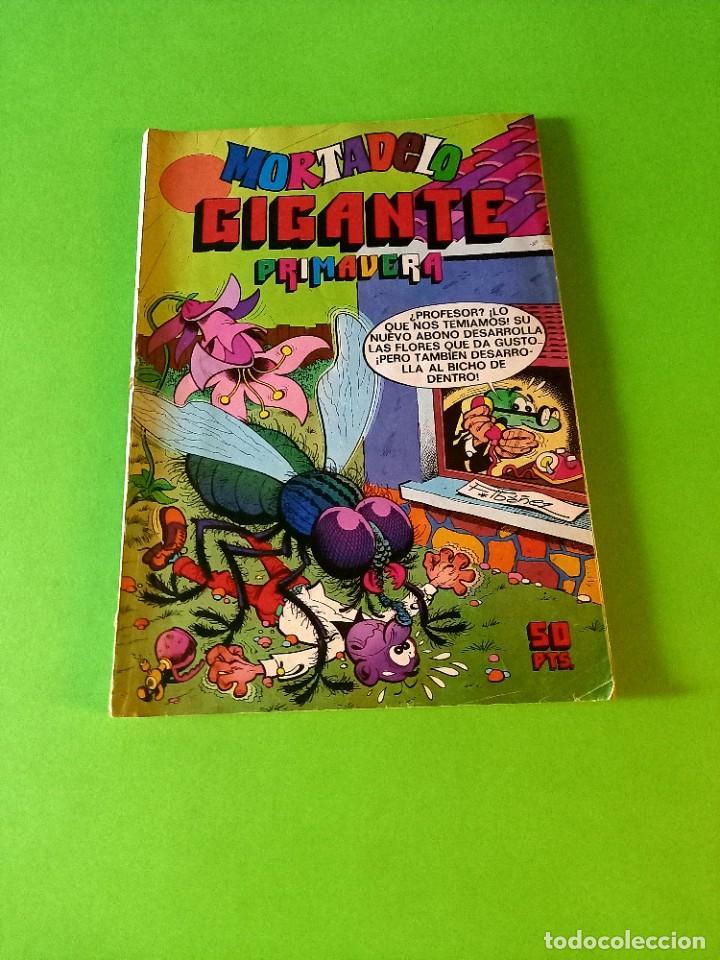 MORTADELO GIGANTE PRIMAVERA 1975-EXCELENTE ESTADO (Tebeos y Comics - Bruguera - Mortadelo)