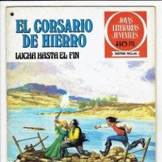 Tebeos: JOYAS LITERARIAS JUVENILES - EL CORSARIO DE HIERRO Nº 45 - LUCHA HASTA EL FIN - BRUGUERA 1978. Lote 283891633