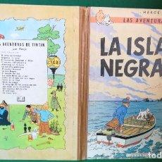 Tebeos: TINTÍN - JUVENTUD - LA ISLA NEGRA - 2ª SEGUNDA EDICIÓN 1967. Lote 283903258