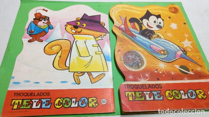 Tebeos: CUENTO TROQUELADO TELE COLOR TELECOLOR LOTE nº49-65 original años 60 - Foto 2 - 284360918