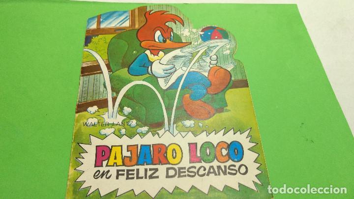 CUENTO TROQUELADO TELE COLOR EL PAJARO LOCO ORIGINAL AÑOS 60 (Tebeos y Comics - Bruguera - Tele Color)