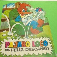 Tebeos: CUENTO TROQUELADO TELE COLOR EL PAJARO LOCO ORIGINAL AÑOS 60. Lote 284361273