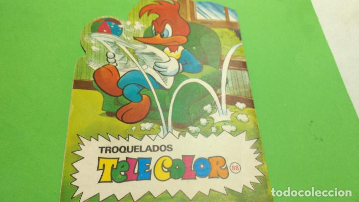 Tebeos: CUENTO TROQUELADO TELE COLOR el pajaro loco original años 60 - Foto 2 - 284361273