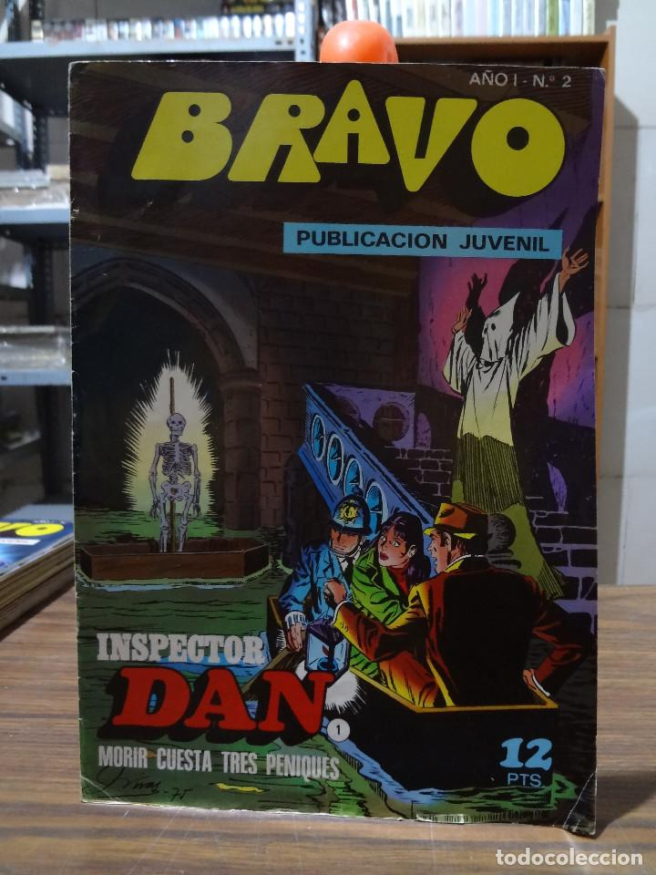 BRAVO COLECCION INSPECTOR DAN -BRUGUERA COMPLETA 41 NUMEROS (Tebeos y Comics - Bruguera - Inspector Dan)