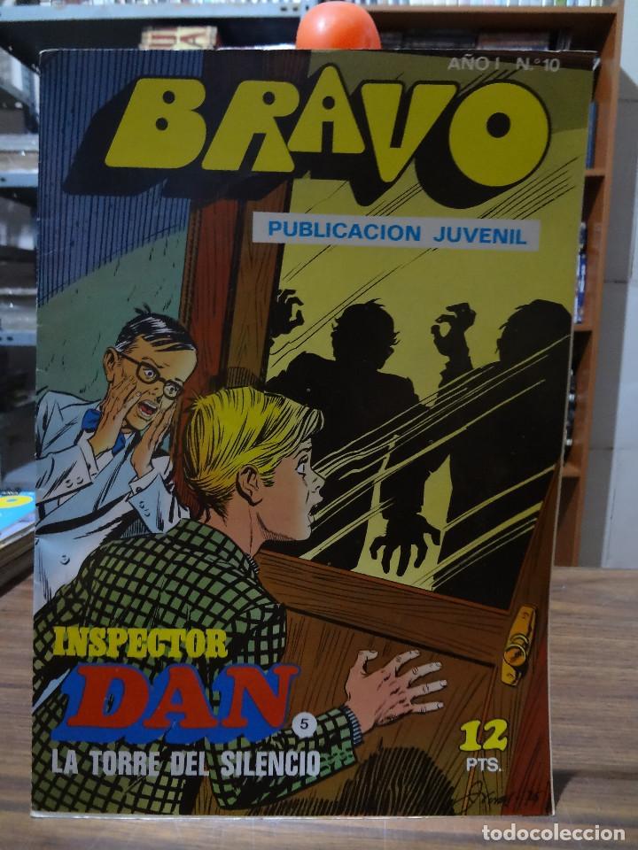 Tebeos: BRAVO COLECCION INSPECTOR DAN -BRUGUERA COMPLETA 41 NUMEROS - Foto 9 - 284428373