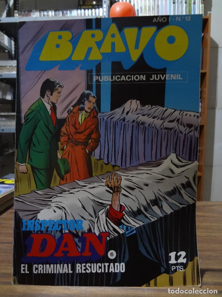 Tebeos: BRAVO COLECCION INSPECTOR DAN -BRUGUERA COMPLETA 41 NUMEROS - Foto 11 - 284428373
