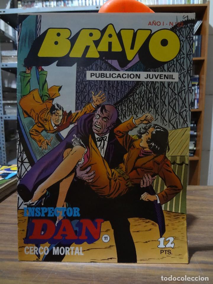 Tebeos: BRAVO COLECCION INSPECTOR DAN -BRUGUERA COMPLETA 41 NUMEROS - Foto 21 - 284428373