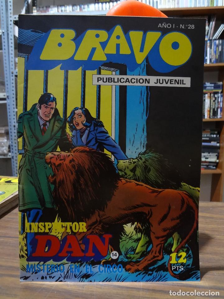 Tebeos: BRAVO COLECCION INSPECTOR DAN -BRUGUERA COMPLETA 41 NUMEROS - Foto 27 - 284428373