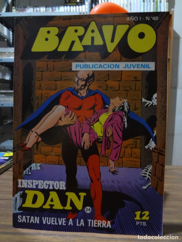Tebeos: BRAVO COLECCION INSPECTOR DAN -BRUGUERA COMPLETA 41 NUMEROS - Foto 47 - 284428373