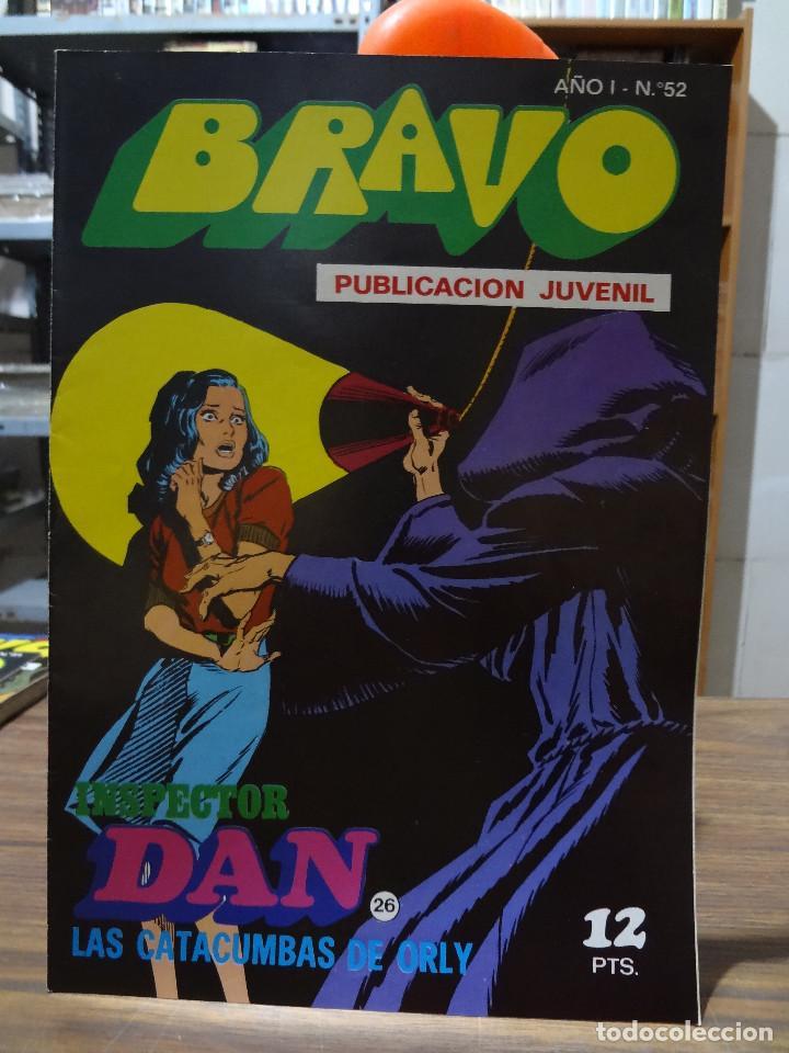 Tebeos: BRAVO COLECCION INSPECTOR DAN -BRUGUERA COMPLETA 41 NUMEROS - Foto 51 - 284428373