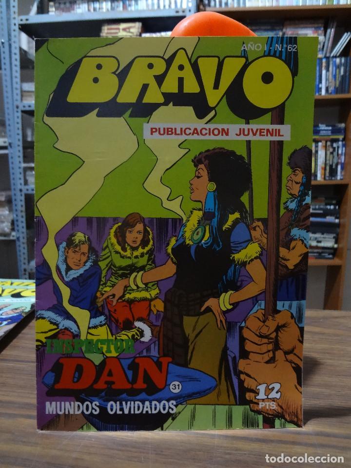 Tebeos: BRAVO COLECCION INSPECTOR DAN -BRUGUERA COMPLETA 41 NUMEROS - Foto 61 - 284428373