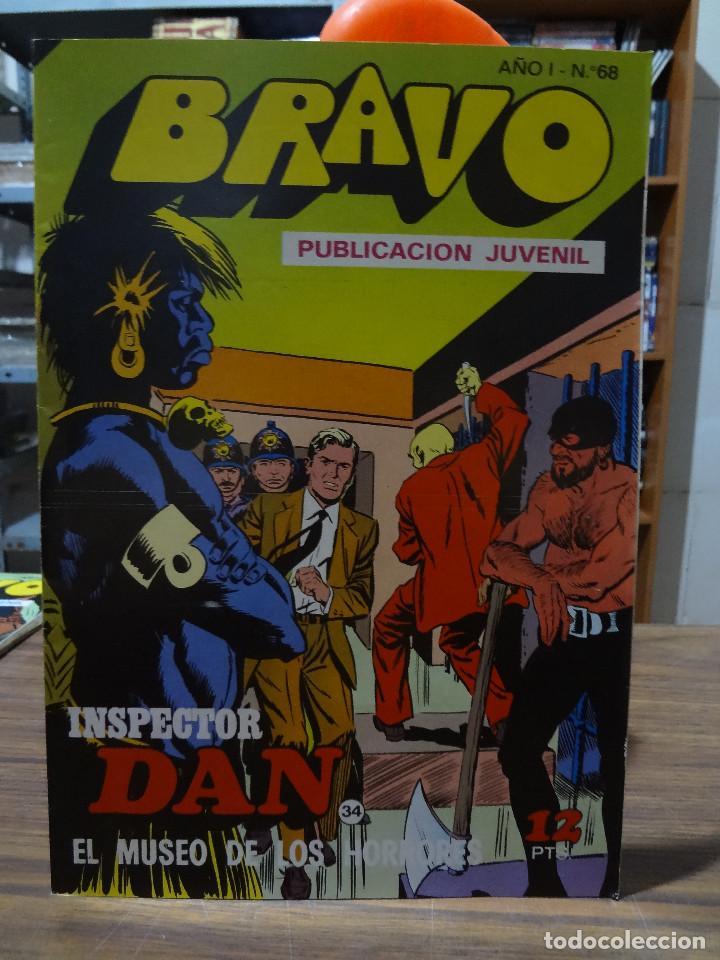 Tebeos: BRAVO COLECCION INSPECTOR DAN -BRUGUERA COMPLETA 41 NUMEROS - Foto 67 - 284428373