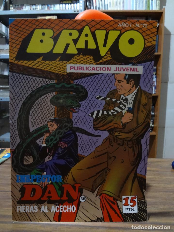 Tebeos: BRAVO COLECCION INSPECTOR DAN -BRUGUERA COMPLETA 41 NUMEROS - Foto 71 - 284428373