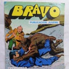 Tebeos: BRAVO, Nº 80, EL INSPECTOR DAN, TERROR EN LOS ALPES. Lote 284600028