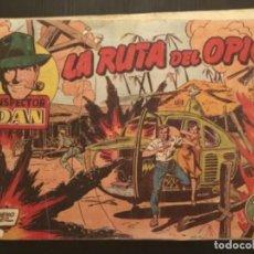 Tebeos: COMIC EDITORIAL BRUGUERA ORIGINAL EL INSPECTOR DAN LA RUTA DEL OPIO NÚMERO 66. Lote 284643888