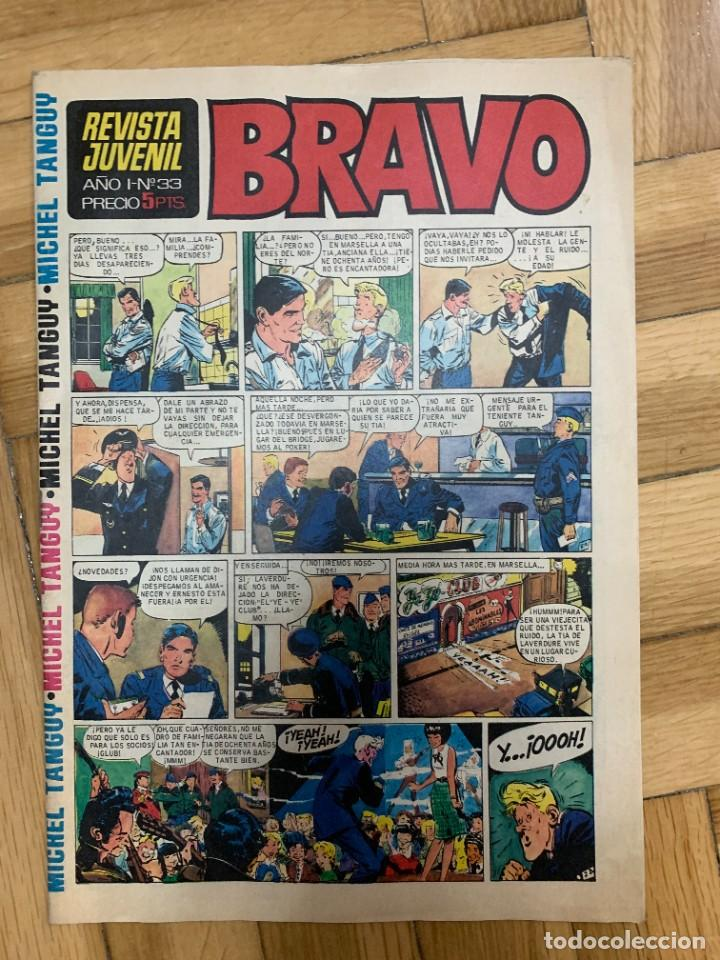 BRAVO Nº 33 - MUY BUEN ESTADO (Tebeos y Comics - Bruguera - Bravo)