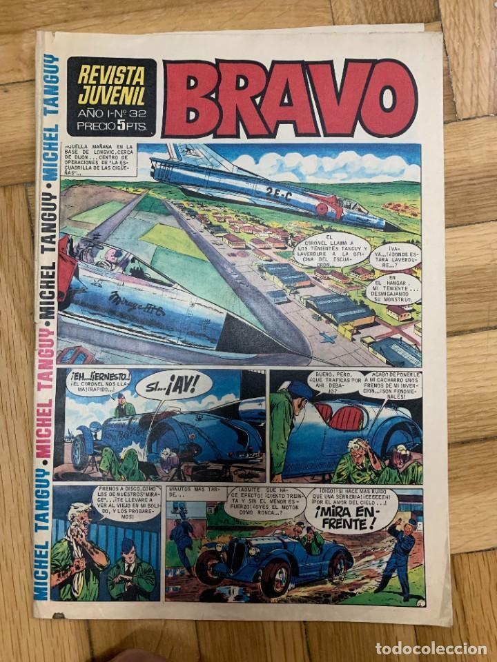 BRAVO Nº 32 - BUEN ESTADO (Tebeos y Comics - Bruguera - Bravo)