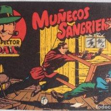Tebeos: INSPECTOR DAN / Nº 1 / MUÑECOS SANGRIENTOS / BRUGUERA - REF.088. Lote 285048428