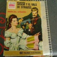Tebeos: SISSI Y EL VALS DE STRAUSS. Lote 285086473