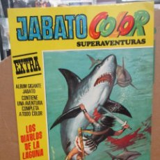 Giornalini: JABATO COLOR SUPERAVENTURAS - EXTRA - Nº 53 - PRIMERA EPOCA - MUY BUEN ESTADO. Lote 285234423
