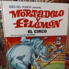 Livros de Banda Desenhada: MORTADELO Y FILEMON. EL CIRCO. ASES DEL HUMOR. N. 27. Lote 285264718