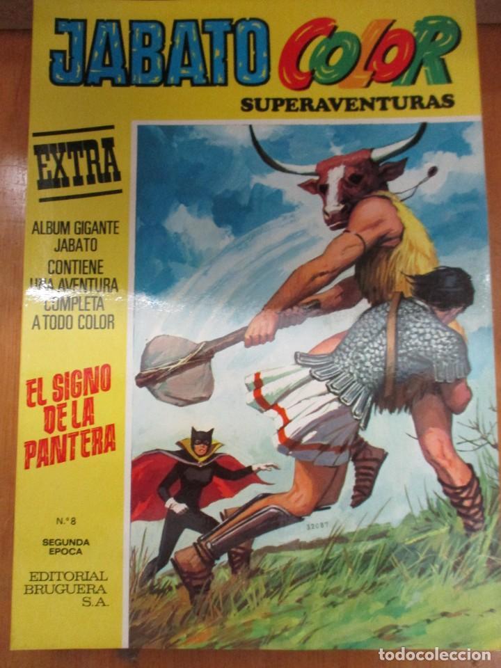 Tebeos: JABATO COLOR SUPERAVENTURAS - EXTRA - 6 EJEMPLARES - SEGUNDA EPOCA - MUY BUEN ESTADO - Foto 6 - 285285288