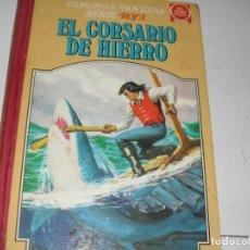 Tebeos: TOMO 4 EL CORSARIO DE HIERRO.EDITORIAL BRUGUERA,AÑO 1978. Lote 285391563