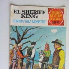 Tebeos: EL SHERIFF KING. CONTRA GILA MONSTER Nº 24 GRANDES AVENTURAS JUVENILES BRUGUERA ARX147. Lote 285650718