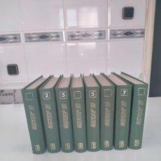 Tebeos: COLECCIÓN EL JABATO COMPLETA 8 TOMOS EDICIONES B AÑO 1992 EDICIÓN FACSÍMIL. Lote 285657293