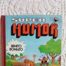 Tebeos: SUPER HUMOR BENITO BONIATO Nº 2 BRUGUERA 1ª EDICIÓN ENERO 1985 FRESNO'S. Lote 285662283