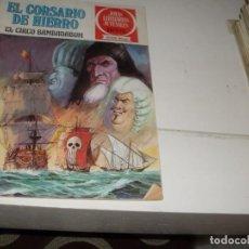 Tebeos: EL CORSARIO DE HIERRO 11.SERIE ROJA.EDITORIAL BRUGUERA,AÑO 1977.. Lote 285664328