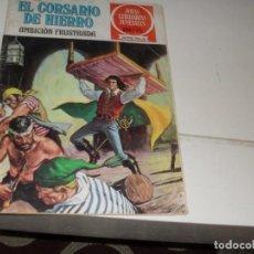 Tebeos: EL CORSARIO DE HIERRO 12.SERIE ROJA.EDITORIAL BRUGUERA,AÑO 1977.. Lote 285664543