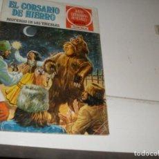 Tebeos: EL CORSARIO DE HIERRO 15.SERIE ROJA.EDITORIAL BRUGUERA,AÑO 1977.. Lote 285664643