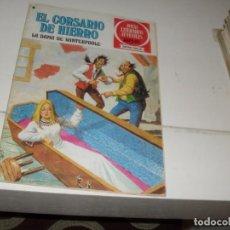 Tebeos: EL CORSARIO DE HIERRO 43.SERIE ROJA.EDITORIAL BRUGUERA,AÑO 1977.. Lote 285664868