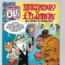BDs: 1508- MORTADELO Y FILEMON - AGENCIA DE INFORMACION -Nº 81 - DE 1.973 COLECIÓN OLE. Lote 285666448