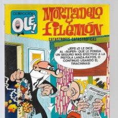 BDs: 1508- MORTADELO Y FILEMON - CATASTROFES -Nº 88 - DE 1.973 COLECIÓN OLE. Lote 285667373