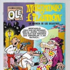 BDs: 1508- MORTADELO Y FILEMON - LA AGENCIA DE LOS DESASTRES -Nº 89 - DE 1.973 COLECIÓN OLE. Lote 285667788