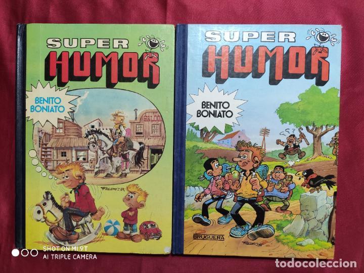 SUPER HUMOR. BENITO BONIATO. COLECCION COMPLETA. DOS TOMOS 1 Y 2. 1ª EDICION. BRUGUERA. (Tebeos y Comics - Bruguera - Super Humor)