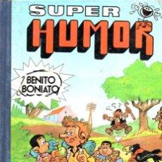 Tebeos: BENITO BONIATO TOMO 2 - SUPER HUMOR BRUGUERA 1985. Lote 286143938