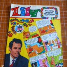 Tebeos: LILY Nº 444 DE BRUGUERA JULIO IGLESIAS EN PORTADA. Lote 286302903