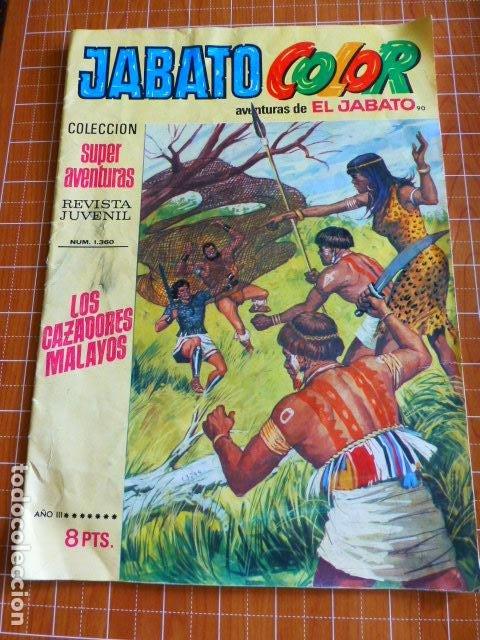 JABATO COLOR Nº 1360 DE BRUGUERA (Tebeos y Comics - Bruguera - Jabato)