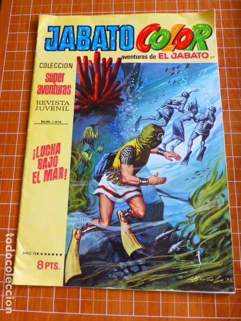 JABATO COLOR Nº 1414 DE BRUGUERA (Tebeos y Comics - Bruguera - Jabato)