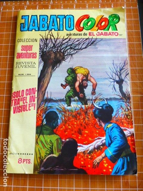 JABATO COLOR Nº 1394 DE BRUGUERA (Tebeos y Comics - Bruguera - Jabato)
