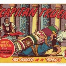 Tebeos: EL CAPITAN TRUENO - Nº 386 - ORIGINAL - BRUGUERA 1964. Lote 286385633